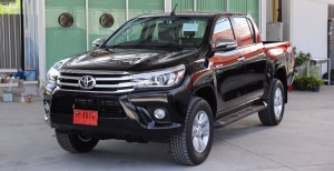 Toyota Hilux Revo in black