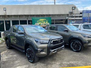 2022 Toyota Hilux Revo Rocco in stock at Jim Autos Thailand